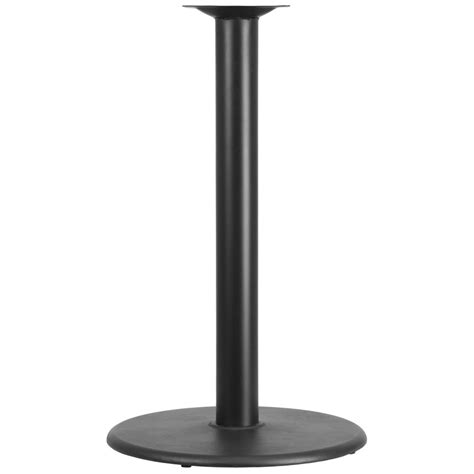 bar table tops and bases 24 quot round restaurant table base with 4 diameter column