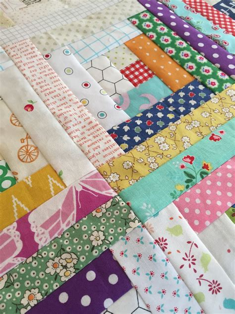 Free Patchwork Patterns - gigi s thimble scrap quilt challenge my scrappy log