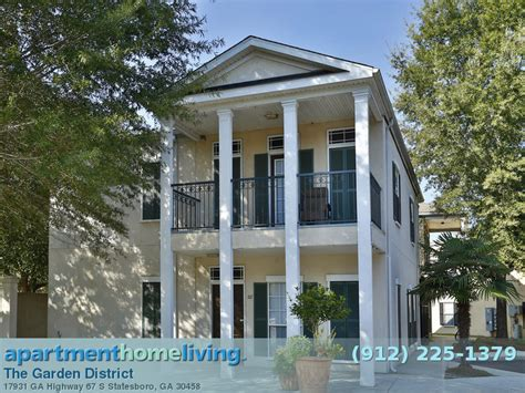 The Garden District Statesboro the garden district apartments statesboro apartments for