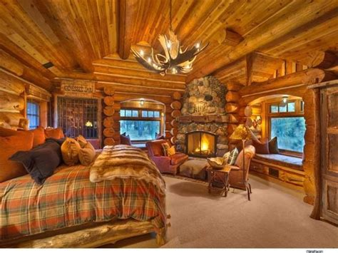 log home bedrooms log cabins master bedroom ideas de inspiraci 243 n