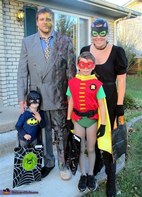 batman family costume batman  robin  catwoman