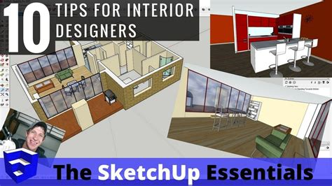 layout sketchup tips top 10 tips for interior design modeling in sketchup 5