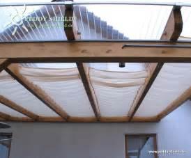 ombrage pour une terrasse sans couverture en verre ou en