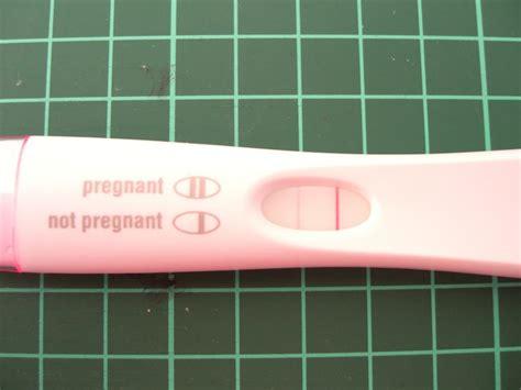 wann sst positiv schwangerschaftstest ab wann positiv negativ