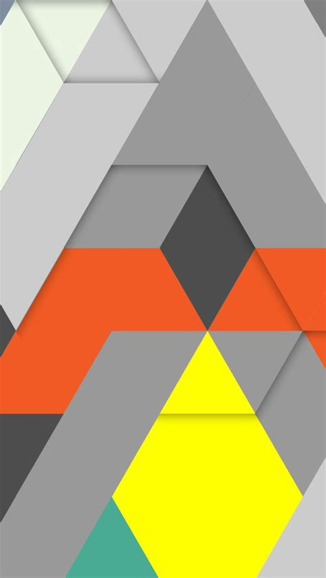 geometric triangle pattern design free iphone 5 download wallpaper design by marlondoomen nl
