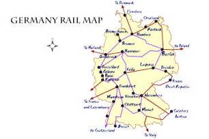 German rail map train routes in germany photo credit james martin