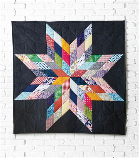 how to make a lone quilted wall hanging joann jo