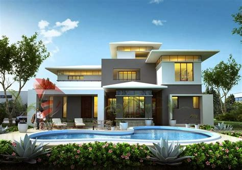 modern home design plans 3d house 3d interior exterior design rendering modern home