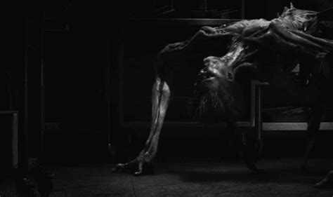 swinging balls tumblr black and white horror gif find share on giphy