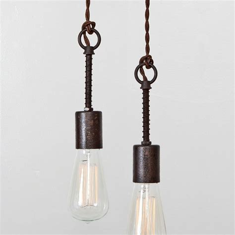 Industrial Spring Pendant Light Hanging Light Ceiling Modern Rustic Pendant Lighting