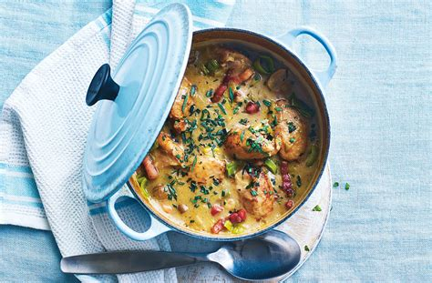 french chicken casserole french recipes goodtoknow