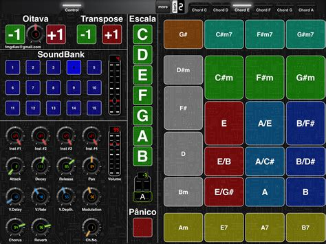 layout d ultimate ultimate chord trigger