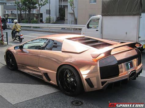 Lamborghini Office Gold Lamborghini Murcielago By Office K Gtspirit