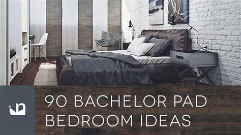bachelor pad mens bedroom ideas youtube