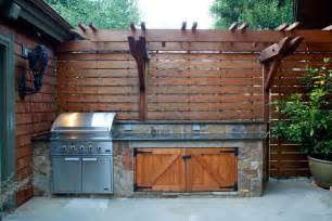 Home Rotisserie Design Ideas Rustic Patio With Outdoor Kitchen By Pete Pedersen