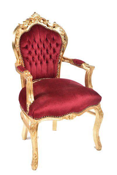 poltrona barocco antica soffitta poltrona barocco steel tessuto oro rosso