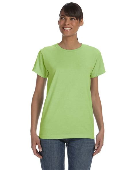 lady comfort colors t shirts comfort colors c3333 ladies 5 4 oz ringspun garment dyed
