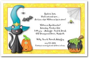 Invitation To Halloween Party Festival Collections