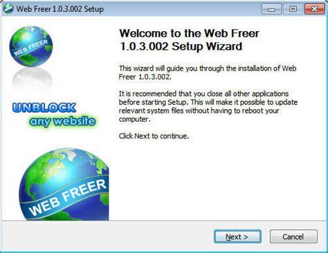 web software free web freer software informer screenshots