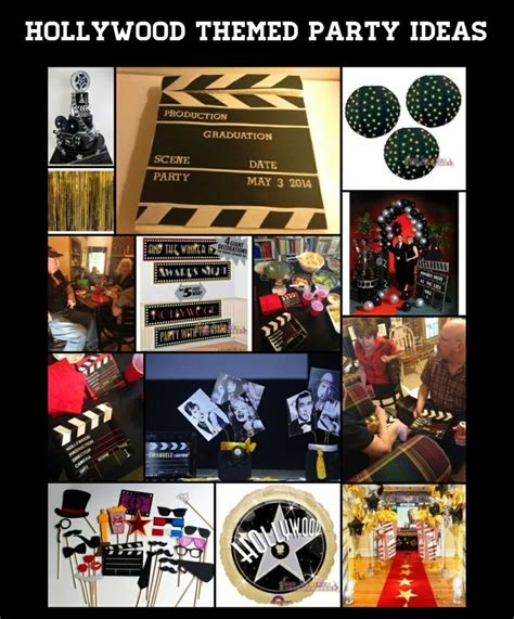 movie themed games 53 best images about hollywood movie theme party on
