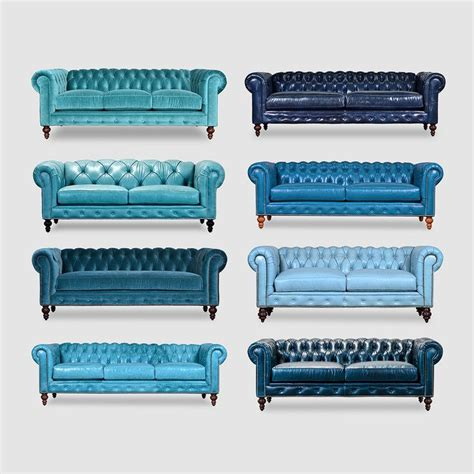 chesterfield sofa blue 25 best ideas about chesterfield on