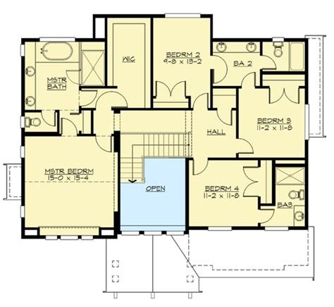 for the front sloping lot 2357jd 2nd floor master for the front sloping lot 23404jd 2nd floor master