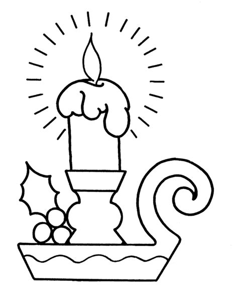big coloring pages for christmas christmas candles coloring pages big pre k christmas