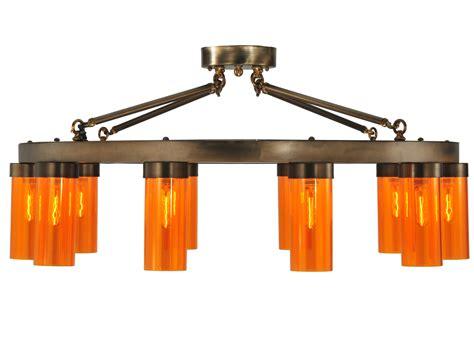 Large Flush Mount Light Fixtures Meyda 131887 Clark Large Semi Flush Mount Ceiling Fixture