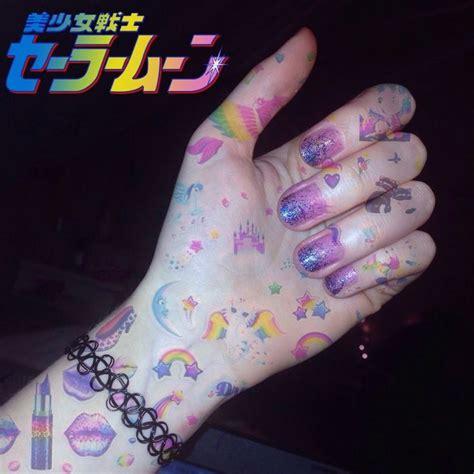 pastel goth tattoos pin by cynthia on pastel kawaii sweet