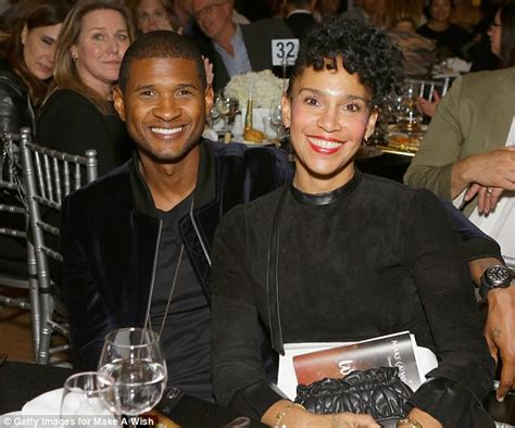 usher and wife grace miguel announce split daily mail online