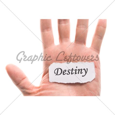 design is destiny in my hands destiny word in hand 183 gl stock images