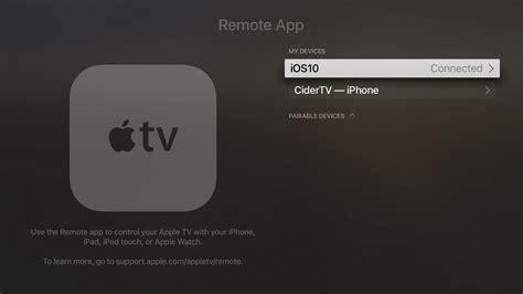 apple tv adalah tvos10 aplikasi remote dengan kontrol suara siri tilt