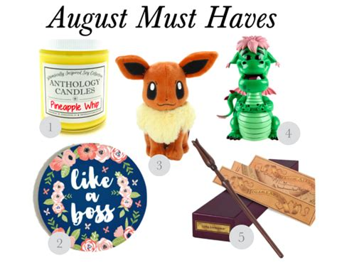 Yumsugars August Must Haves by Must August 2016 Simply Sinova