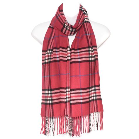 Pashmina Lv 2 By Ratu Scarf mens tartan check soft neck shawl stole wrap scarf plaid scarves new ebay