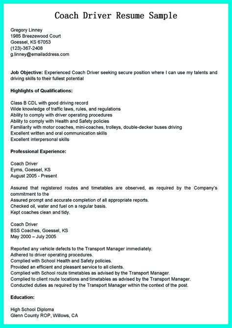 Cdl B Driver Cover Letter by Simple But Serious Mistake In Cdl Driver Resume
