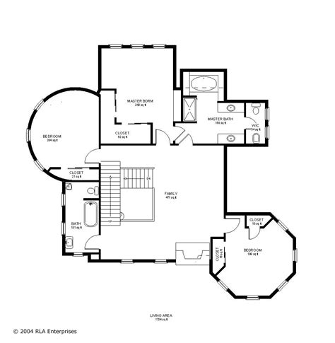 Victorian House Layout by Victorian 2nd Floor Fantastic Floorplans Pinterest