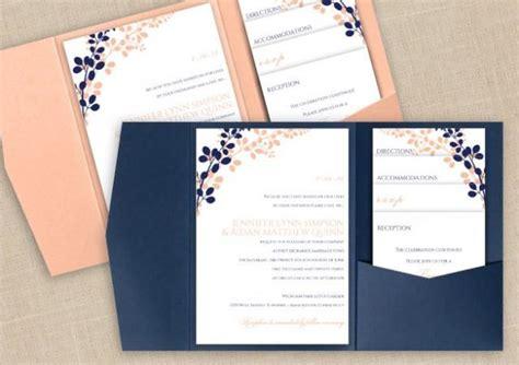 pocket card template microsoft word diy pocket wedding invitation template set instant