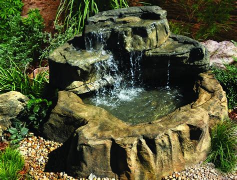 backyard waterfall kits home depot outdoor furniture