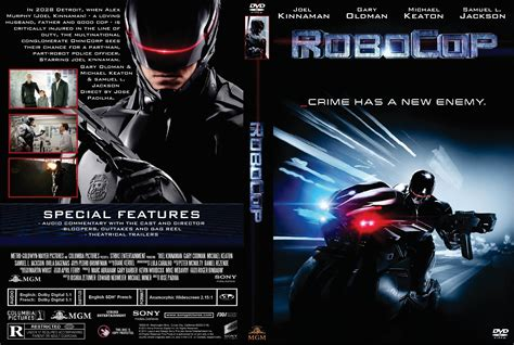 Cover Dvd Robocop Dvd Cover 2014 R1 Custom