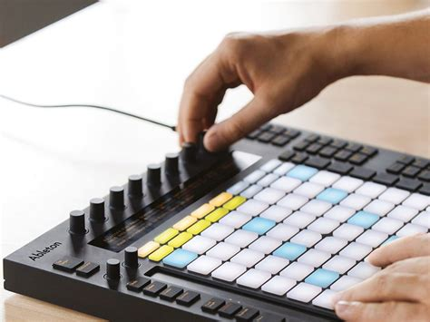 ableton push new live 9 midi controller for writing and
