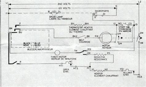 whirlpool dryer motor wiring diagram schematic get free