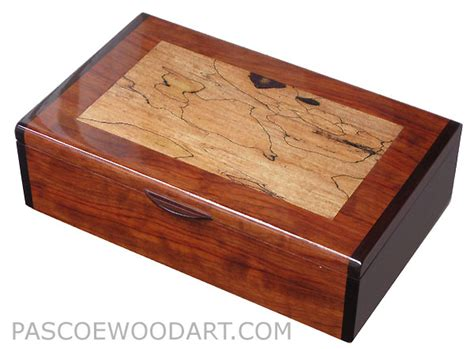 Handmade Keepsake Box - handmade wood box wood keepsake box bubinga spaled