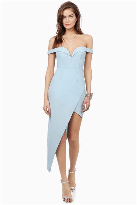 Id 2298 Blue Bodycon Dress lavender bodycon dress shoulder dress bodycon