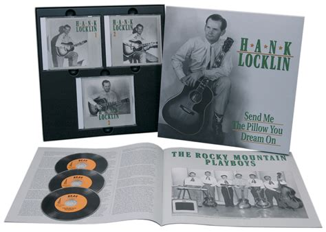 hank locklin send me the pillow you on 3 cd