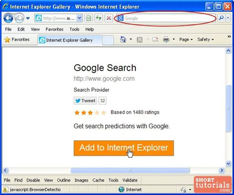 Search For Providers By Address How To Set Manage Default Search Engine In Explorer Ie Browser