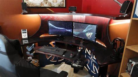 gaming schreibtisch gaming paradies 17 ideen f 252 r gaming schreibtisch
