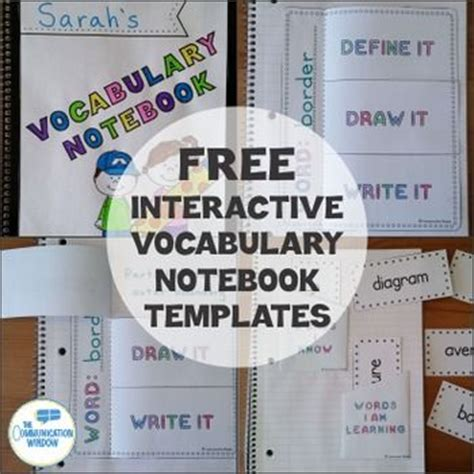 free interactive notebook templates the world s catalog of ideas