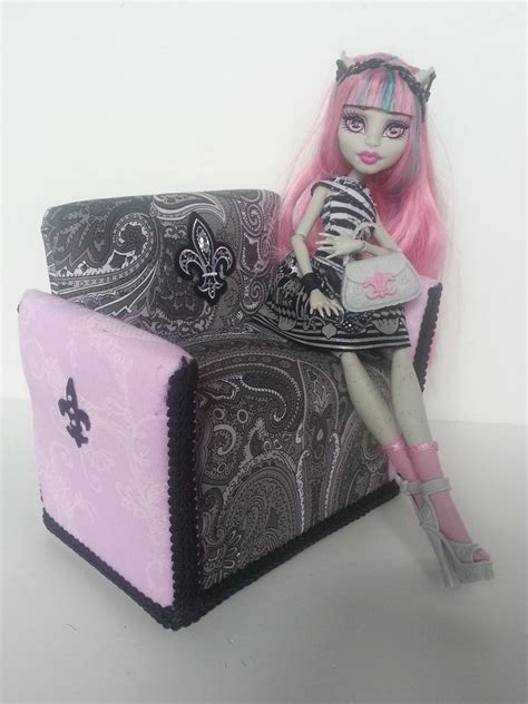 monster couch monster high or barbie sofa couch rochelle scaris inspired