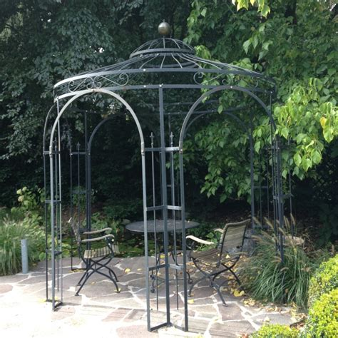 gartenpavillon eisen voll eisen pavillon traumgarten