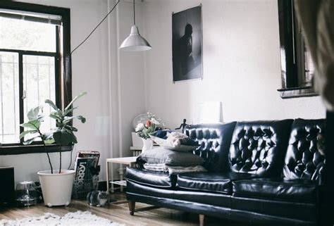 bianca home decor 25 best ideas about black leather couches on pinterest